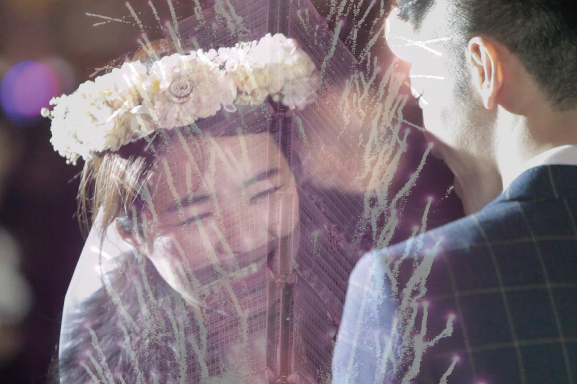 台北101跨年求婚